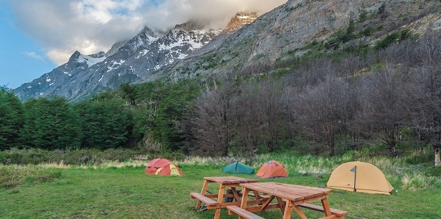 Camping Vértice Grey