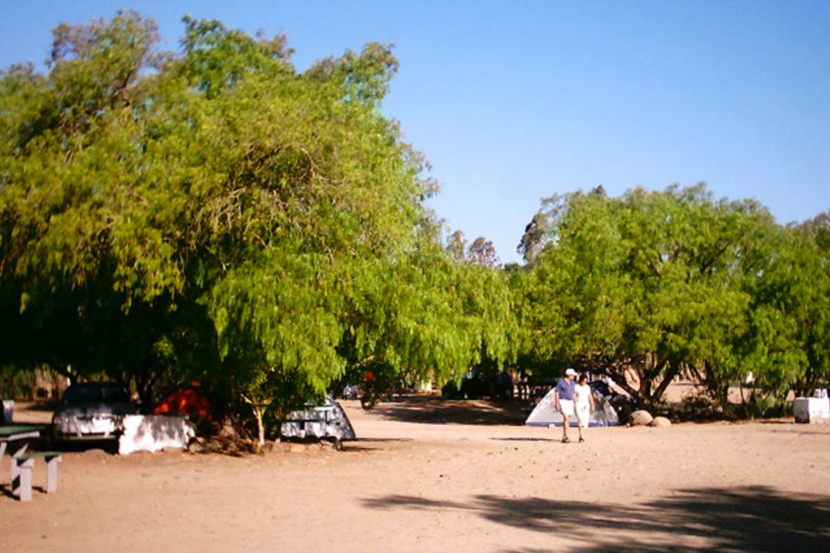 Camping Termas Socos